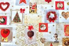 画像5: 「即納J」はぎれ70x50:クリスマスの天使たち(写真、額装風)/ 95g (5)