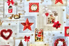 画像6: 「即納J」はぎれ70x50:クリスマスの天使たち(写真、額装風)/ 95g (6)