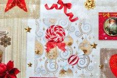 画像10: 「即納J」はぎれ70x50:クリスマスの天使たち(写真、額装風)/ 95g (10)