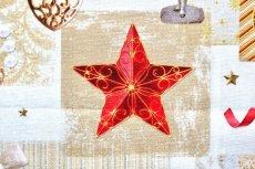画像1: 「即納J」はぎれ70x50:クリスマスの天使たち(写真、額装風)/ 95g (1)