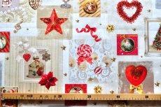 画像11: 「即納J」はぎれ70x50:クリスマスの天使たち(写真、額装風)/ 95g (11)