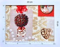 画像12: 「即納J」はぎれ70x50:クリスマスの天使たち(写真、額装風)/ 95g (12)