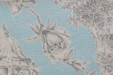 画像9: 「即納J/F」はぎれ80x50:シャンペートル(水色ベースグレイ)/95g (9)