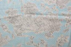 画像10: 「即納J/F」はぎれ80x50:シャンペートル(水色ベースグレイ)/95g (10)