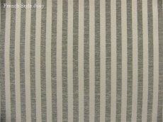 画像1: 「即納J/F」布:オルレアン(ストライプ、2色グレイ) /540g (1)
