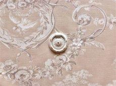 画像5: 「即納J」取っ手:紋章・ルイ16世(直径3.8cm、ホワイト&ゴールド)/45g (5)