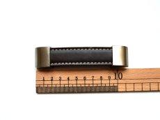 画像2: 「J即納/F在庫」取っ手:合皮革11.5cm(ダークブラウン) /60g (2)
