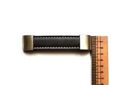画像3: 「即納J/即納F」取っ手:合皮革11.5cm(ダークブラウン) /60g (3)