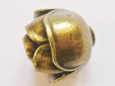 画像4: 「即納F」取っ手:ブルジェオン径3.3cm(アンティークゴールド)/110g (4)