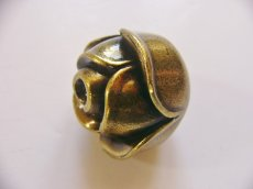 画像5: 「即納F」取っ手:ブルジェオン径3.3cm(アンティークゴールド)/110g (5)