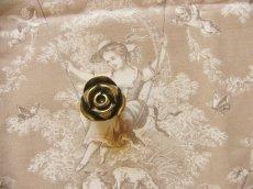 画像7: 「即納F」取っ手:ブルジェオン径3.3cm(アンティークゴールド)/110g (7)