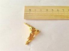 画像3: 「即納J」【4点セット】猫脚(小):エグル(ゴールド)/80g (3)