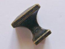 画像2: 「即納F」取っ手:スクエア22mm(アンティークゴールド)/45g (2)