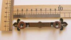 画像3: 「即納F」取っ手:百合の紋章 11.6cm(アンティークゴールド)/65g (3)