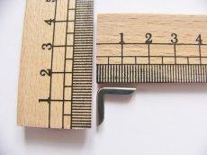 画像2: 「即納F」角金具シルバー15mm×15mm 4個セット/10g (2)