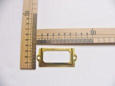 画像3: 「移動中/即納F」ネームプレート70x33mm(ゴールド) /20g (3)