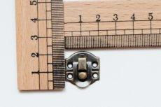 画像3: 「F在庫」 留め金具20x21mmアンティークゴールド /8g (3)