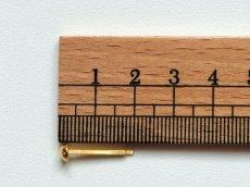 画像2: 「J即納/F在庫」新・割りピン5mm(ゴールド)10個セット /10g (2)