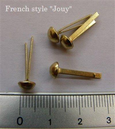 画像2: 「J即納/F在庫」割りピン6mm(ゴールド)12個セット /10g