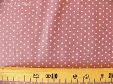 画像2: 「即納J/即納F」布:ドッツ(紫ベース)長さ50cm単位 /80g (2)