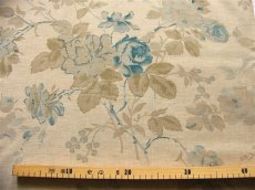 画像2: 「即納J/F」布:フルールマノン(シャンブレーブルー)長さ50cm単位 /80g (2)