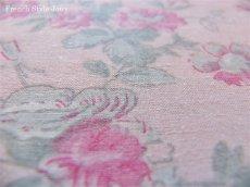 画像3: 「即納J/F」布:マリオン(ピンクベースピンク・グレイ)長さ50cm単位 /80g (3)