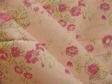 画像4: 「即納J/F」布:マリオン(ピンクベースピンク・グリーン)長さ50cm単位 /80g (4)