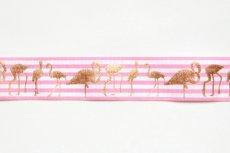 画像4: 「J即納」リボン25mm:ストライプ・フラミンゴ(ピンク)/6g (4)