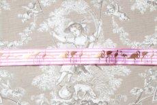 画像6: 「J即納」リボン25mm:ストライプ・フラミンゴ(ピンク)/6g (6)