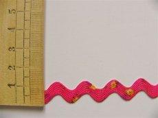 画像2: 「移動中」ブレードE波型1cm(ホットピンク、リバティ風) /6g (2)