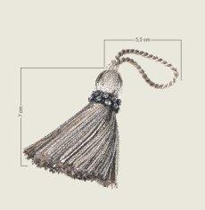 画像2: 「即納J」廃盤キータッセルNo.1804 7色 /20g (2)