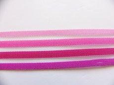 画像3: 「移動中」ストライプリボン15mm(ピンク4色)/4g (3)