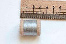 画像2: 「即納J/即納F」絹糸:AU VER A SOIE (色番号004:シルクグレイ)16m /30g (2)