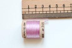 画像2: 「移動中」絹糸:AU VER A SOIE (色番号345:パール紫)16m /30g (2)