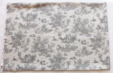 画像2: 「即納F」はぎれ80×50:ミニパストラル(ベージュグレイ、小柄)/75g (2)