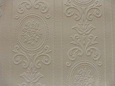 画像4: 【送料込み】「即納F」壁紙:ヴェルサイユ(ホワイト)10m巻き /1500g (4)