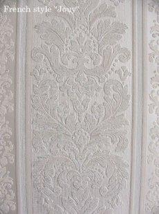 画像5: 【送料込み】「即納F」壁紙:トリアノン(ホワイト)10m巻き /1550g (5)