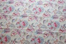 画像7: 「F在庫」はぎれ70×50:アカプルコ(クリームベースピンク・水色)色番4 (7)