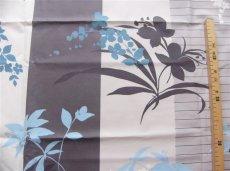 画像3: 「取寄せ」布:撥水加工リミニ(ブルー・ブラウン)長さ50cm単位 /180g (3)