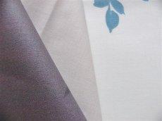 画像5: 「取寄せ」布:撥水加工リミニ(ブルー・ブラウン)長さ50cm単位 /180g (5)