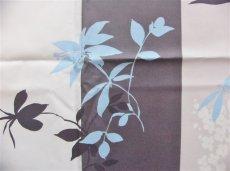 画像8: 「即納F」はぎれ80x50:撥水加工リミニ(ブルー・ブラウン) /90g (8)