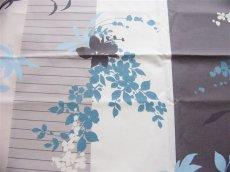 画像9: 「即納F」はぎれ80x50:撥水加工リミニ(ブルー・ブラウン) /90g (9)