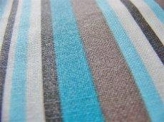 画像3: 「取寄せ」布:撥水加工パステル(ブルー・ブラウン)長さ50cm単位 /180g (3)
