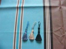 画像6: 「取寄せ」布:撥水加工パステル(ブルー・ブラウン)長さ50cm単位 /180g (6)