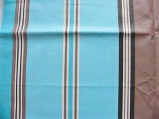 画像7: 「取寄せ」布:撥水加工パステル(ブルー・ブラウン)長さ50cm単位 /180g (7)