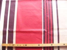 画像2: 「即納J」はぎれ80x50:撥水加工シロッコ(ブラウン・赤) /90g (2)