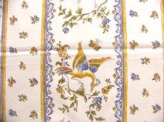 画像13: 「J即納」はぎれ80x50:ムスティエ(プロヴァンス、鳥、ブルー)/80g (13)