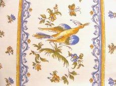 画像14: 「J即納」はぎれ80x50:ムスティエ(プロヴァンス、鳥、ブルー)/80g (14)