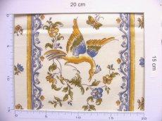 画像6: 「J即納」はぎれ80x50:ムスティエ(プロヴァンス、鳥、ブルー)/80g (6)