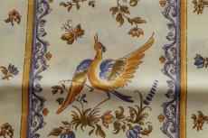 画像10: 「即納J」はぎれ80x50:撥水加工 ムスティエ(プロヴァンス、鳥、ブルー)/90g (10)